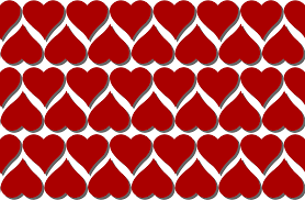 Heart Pattern Enchanting Clipart Heart Pattern 48