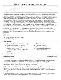 Wound Care Nurse Resume Sample Resume Wound Care Nurse Resume 8