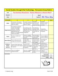 Persuasive Essay Rubric 2 Persuasive Essay Rubric Pdf Flipbook