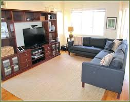 how to place an area rug how to place area rug in front of sectional what how to place an area rug