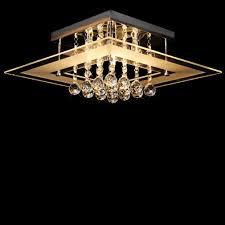 flush mount crystal chandelier. Dst Modern Clear Crystal And Glass Flushmount Ceiling Light Chandelier Chrome Finish For Flush Mount E