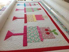 Allouette' digital pantograph by Natalie Gorman | Fabadashery ... & 'Cake Walk' quilt designed by Lori Holt, made by Wendy, custom quilted · Longarm  QuiltingFrances ... Adamdwight.com