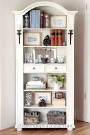 easy bookcase makeover using annie sloan chalk paint