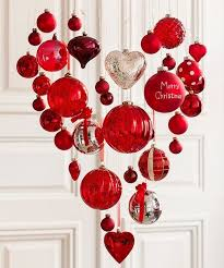 If you change out the Merry Christmas ball this ornament heart would be  great for Valentine's