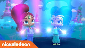 Shimmer And Shine Musical Night Light Shimmer And Shine Theme Song Music Video Nickelodeon