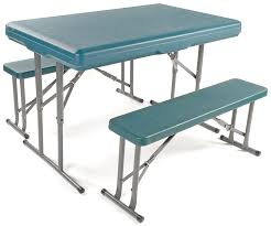 Camping Folding Table And Chairs Set Impressive Folding Camping Picnic Table And Chairs 87 By Amazing