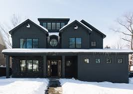 black home exterior design ideas home bunch interior design ideas