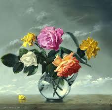 flower painting rose flower painting flower paintings