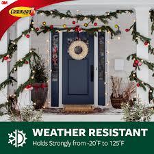 Christmas Light Hooks Walmart Command Indoor Outdoor Light Clips Hang Christmas Lights