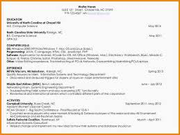 11 Resume For Computer Science Student Resume Cover Note