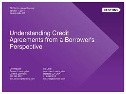 Corporate: Negotiating Credit Facilities