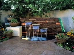 small garden fountain ideas fountains outdoor water features with lights lovely backyard decorating easter eggs shaving cream