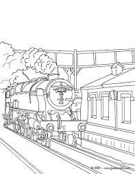 Coloriages Locomotive Vapeur Fr Hellokids Com