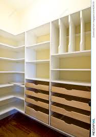 empty walk in closet. Empty Walk-in Closet Walk In