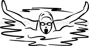 swimming clipart black and white. Beautiful And Banner Freeuse Female Swimmer Production Ready Artwork For T And Swimming Clipart Black White M
