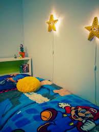 Super Mario Bedroom Make A Super Mario Bros Star Wall Lamp Ikea Hackers Ikea Hackers