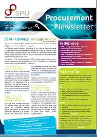 News Letters Procurement Newsletters Spu