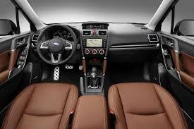 2018 subaru forester redesign. Delighful Subaru 2018 Subaru Forester Interior Intended Subaru Forester Redesign