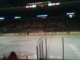 Cyclones Hockey Seating Chart Heritage Bank Center Section 112 Row G Seat 8 Home Of