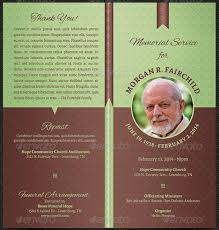 Funeral Templates Free Delectable Funeral Pamphlet Template Free Memorial Pamphlet Templates Goal