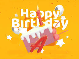vectary 3d typography templates happy birthday hbd alice