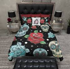skull sheets queen size