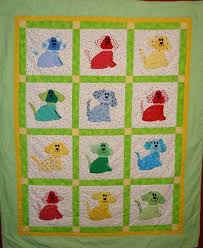 Applique Quilts Patterns – co-nnect.me & ... Christmas Applique Quilt Patterns Free Quilt With Colorful Dogs In  Sqares Easy Applique Quilt Patterns Beginners Flower ... Adamdwight.com