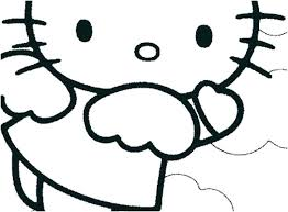 Hello Kitty Colring Sheets Hello Kitty Print Ivychendesign Co