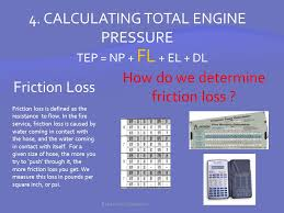 Fire Department Friction Loss Chart Welcome To Basic Pump Operations Ppt Download