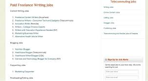 jobs as a writer working at home jobs for housewives and moms job  the best job sites for writers a recent sampling of jobs posted on lance writing jobs