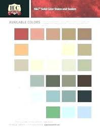 Concrete Sealer Color Chart Rust Oleum Concrete Stain Color Chart Artgift Co