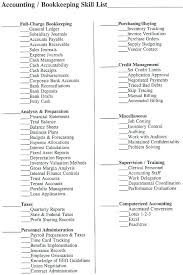 Sample Resumes Online List Office Skills Resume It Job Description ...