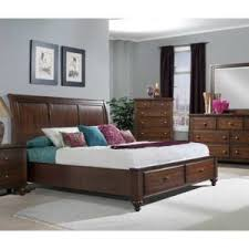 4PC EASTERN KING STORAGE BEDROOM SET CHATHAM