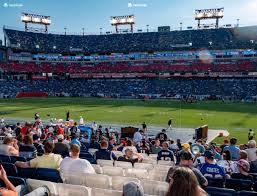 Tennessee Titans Stadium Virtual Seating Chart Nissan Stadium Section 111 Seat Views Seatgeek