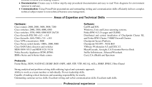 Resume Special Skills Examples Examples Of Resumes
