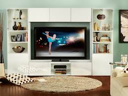 tv unit with storage. watch the winter games on a custom ikea tv storage unit fit for your living room tv with e