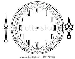 Clock Template To Make Printable Clock Templates Doc Free
