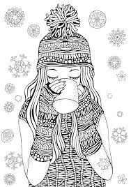 Today i am sharing with you all some exclusive free winter coloring pages for kids to print! Free Printable Winter Coloring Pages Madalenoformaryland