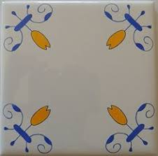 Blue And White Decorative Tiles Delft Tiles Blue and White Decorative wall tiles Historic Oxen 79