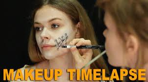 sally makeup by jody steel a nightmare before timelapse drawing