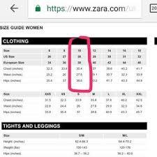 Abundant Zara Jeans Size Guide 2019