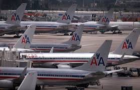 who are american airlines main competitors de jblu