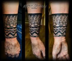 татуировка полинезийский браслет тату салон юрец удалец