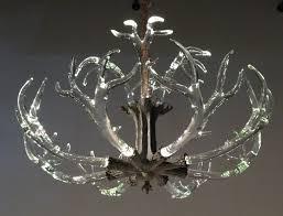 66 most divine deer horn chandelier kit lights faux elk antler lighting canada white venetian kitchen