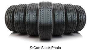 tires clipart.  Tires Group Of Automotive Tires  Isolated On White For Tires Clipart
