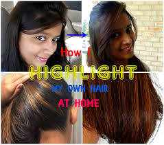 how to highlight your own hair at home with garnier nutrisse sensationalsupriya