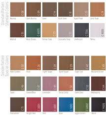 International Deck Paint Colour Chart Colors
