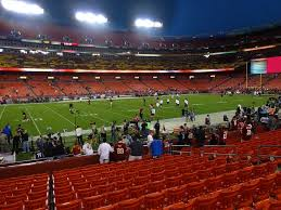 Fedexfield View From Lower Level 103 Vivid Seats