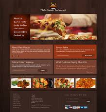 website templates download free designs free restaurant website template creativegeek