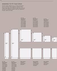 Kitchen Cabinet Height Standard Standard Kitchen Base Cabinet Sizes Lawsoflifecontestcom